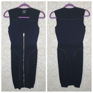 MCQ Alexander McQueen Wool Bodycon Dress S